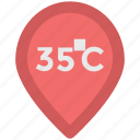 celsius temperature, degree, online temperature, temperature scale, weather app icon