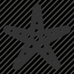 beach, fish, ocean, sea, sea star, starfish, summer icon