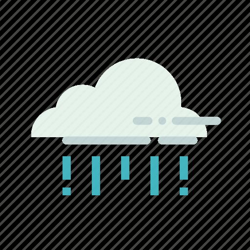 cloud, drizzle, forecast, rain, rainfall, raining, weather icon