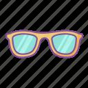 eyeglasses, glasses, spectacles, summer