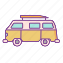 vw car, travel, transport, summer