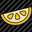 lemon, fresh, fruit, juice, food