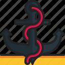 anchor, navy, sail, marine, anchors
