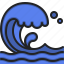 sea, waves, summer, ocean, beach, nature