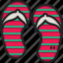 slippers, footwear, sandals, flip, flops, fashion, beach