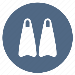 dive, diving, equipment, snorkeling, summer icon