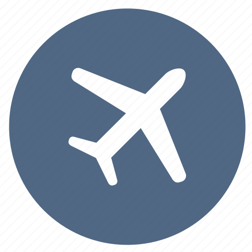 airplane, airport, plane, summer, transportation, vacation icon