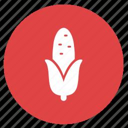 corn, farm, food, roasted corn, summer, vegetable icon