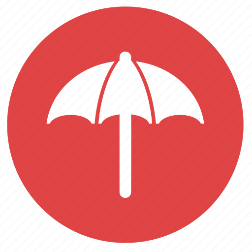 beach, beach umbrella, holiday, summer, umbrella, vacation icon