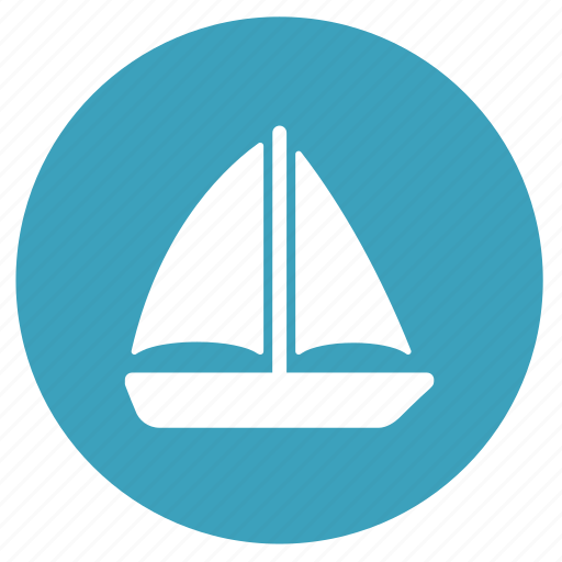 boat, sailing, ship, shipping, summer, transport, travel icon
