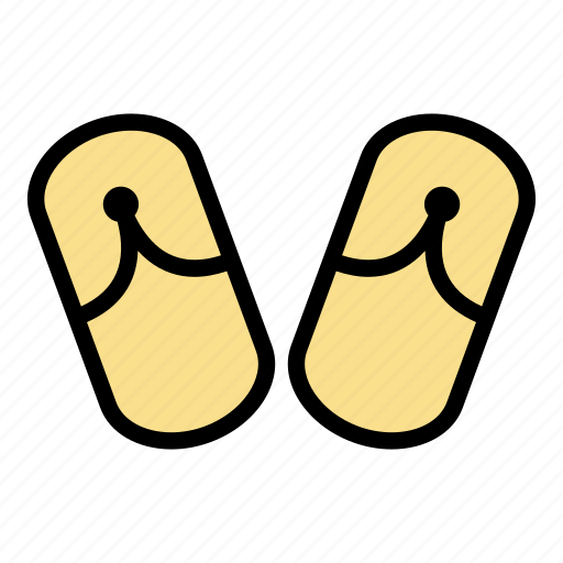flip, flops, relax, relaxation, summer icon