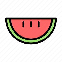 food, melon, summer, travel, water icon