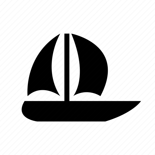 boat, sail, sailboat, sea, transport, travel, yacht icon