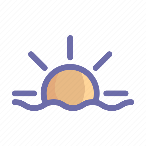 beach, food, holiday, sea, summer, sun, vacation icon