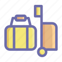 beach, food, holiday, sea, summer, sun, vacation icon