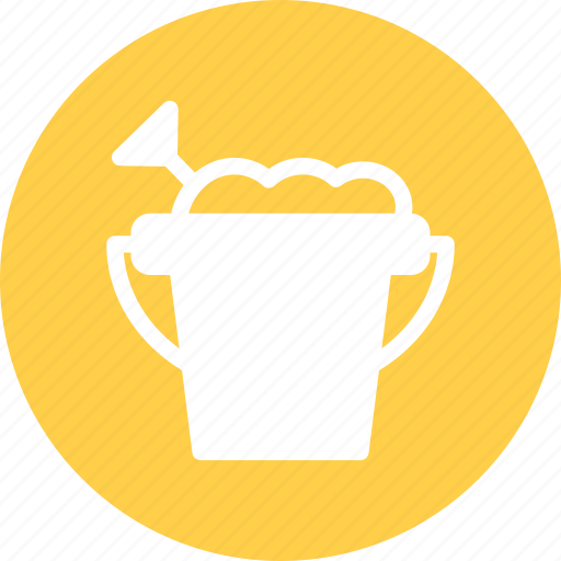 Beach, bucket, dig, sand, shovel, toys icon - Download on Iconfinder