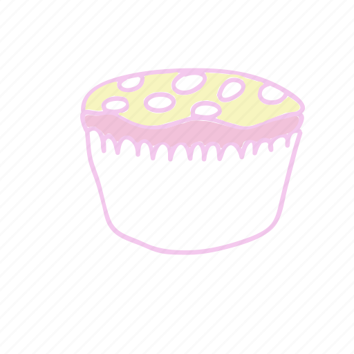 cake, cupcake, lemonade, sugar, summer icon