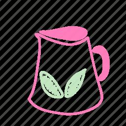 cake, leaf, summer, tekko icon