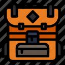 bag, camping, hiking icon