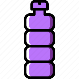 bottle, holiday, summer, vacation, water icon