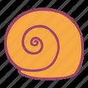 beach, sanil, sea, shell, summer icon