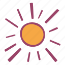 summer, sun, sunny, sunshine icon