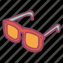 glasses, summer, sunglasses, sunny icon