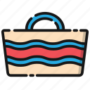 bag, cloth, holiday, shopping, transportation, travel, vacation icon