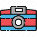camera, media, photo, photography, summer, vacation icon