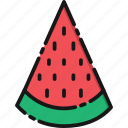 beach, food, fruit, holiday, summer, travel, watermelon icon