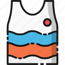 beach, holiday, summer, transportation, travel, vacation, vest icon