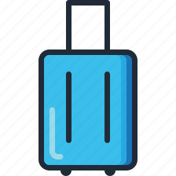 holiday, luggage, suitcase, summer, travel, trip, vacation icon
