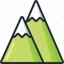 holiday, mountains, nature, summer, travel, trip, vacation icon