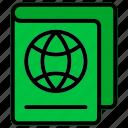 passport, permission, refugee, visa