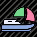 boat, sailboat, sailing, watercraft