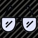 fashion, glasses, opticals, sun, sunglass icon