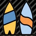 beach, surfboarding, surfing, vacation