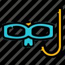 eyeglasses, glasses, spectacles, sport, swim, swimming