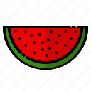 diet, fresh, fruit, healthy, organic, vegetable, watermelon