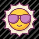 sunny, sun, summer, warm