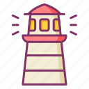 lighthouse, tower, beacon, guide