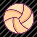 volley, ball, sport, beach