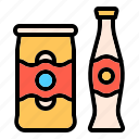 cola, soda, summer, beach, drink, can, beverage