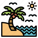 summer, beach, sea, travel, sand