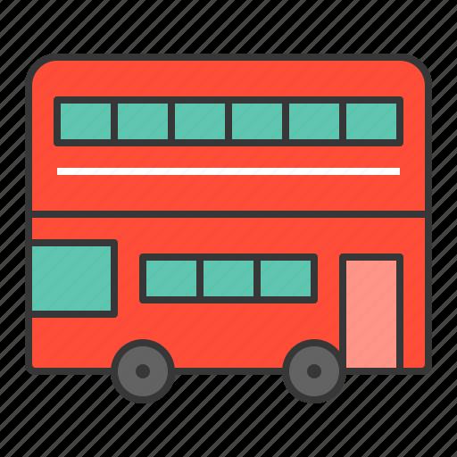 bus, london, london buses, transport, transportation, vacation icon