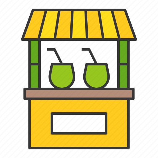 shop, stall, store, vacation icon