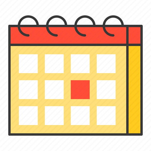 appointment, calendar, date, day, vacation icon