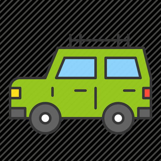 camping, camping car, car, vacation, vehicle icon
