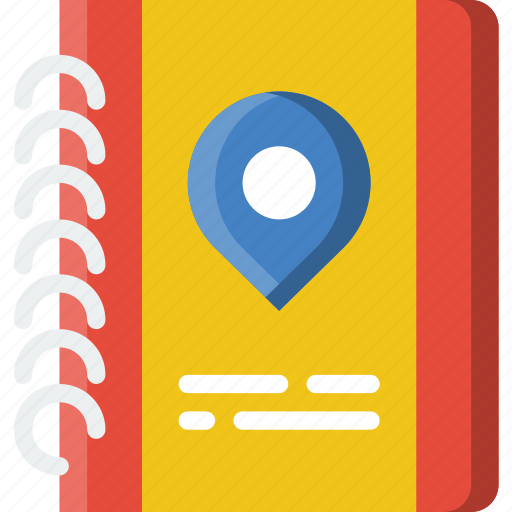 book, guide, holiday, summer, vacation icon