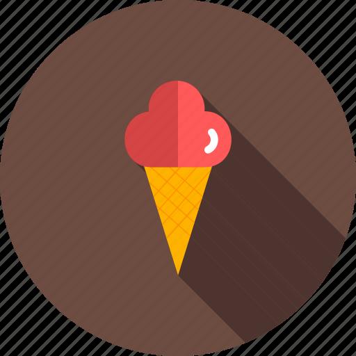 cone, cream, icecream, lolly, summer, sweet icon